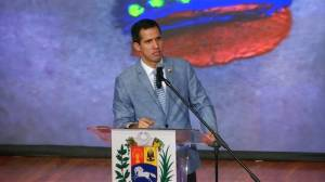 'Wretched are those who do not allow humanitarian aid to enter', Guaido says