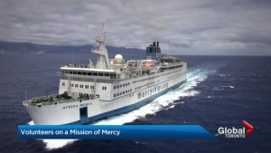 Hospital ship docked in West Africa transforming lives around the world