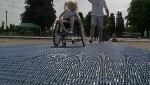 Cities improving beach wheelchair accessibility