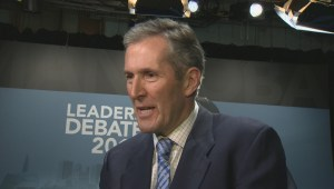 Archive: Brian Pallister discusses tax hikes in 2016, 2017 media events