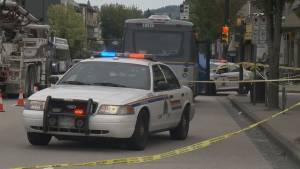 RCMP investigate how pedestrian was hit by bus