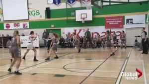 Okanagan College Coyotes celebrate success on home court