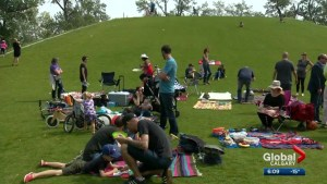 Should Calgarians be allowed to drink in a public park?