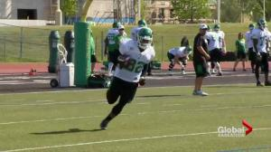 3 vying for Saskatchewan Roughriders starting running back position