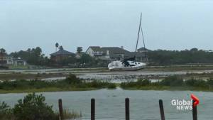 Video shows widespread damage in Corpus Christi from Hurricane Harvey