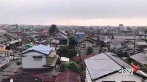 Air sirens heard over Japan following N. Korea missile launch