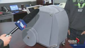 UBCO students design prototype for alternative shopping cart