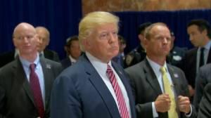 Trump says jobs will solve racial divide in U.S.