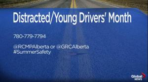 Alberta RCMP Traffic Services: Keep your eyes on the road