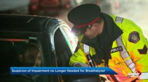 New breathalyzer laws coming into force in Canada