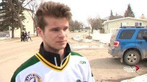 Humboldt Broncos statistician Brody Hinz 'always had a smile on his face'