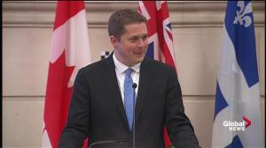Andrew Scheer calls for party unity to defeat Justin Trudeau