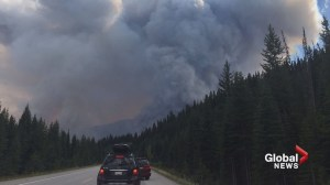 Highway 93 closed again due to Verdant Creek wildfire