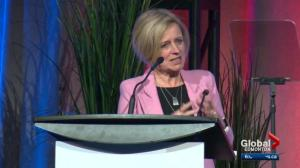 During energy address, Notley says Kenney's contemplating toll roads