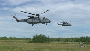 Military shows off new Cyclone helicopter days before first international deployment