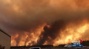 High Level wildfire grows to nearly 80,000 hectares in size