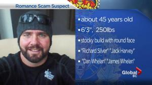 Police warn of suspect wanted in Coquitlam romance scam