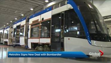 Alstom to build Metrolinx LRT cars in Toronto, will create