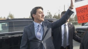 Prime Minister in campaign mode in B.C.