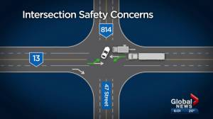 Concerns raised about intersection near Wetaskiwin