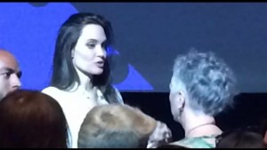 Kingstonian get's face-time with Angelina Jolie at TIFF