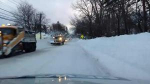 Raw video: Driving through the streets of Buffalo