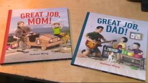 BC lawyer authors children's books celebrating parenting
