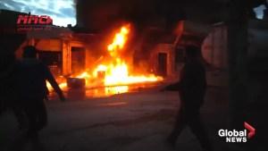 Renewed shelling targets Syria's Idlib province