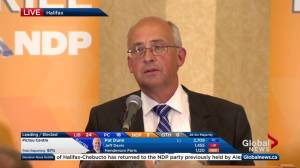 Nova Scotia election: Gary Burrill talks possibility of minority government (01:37)