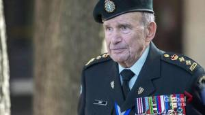 Col. David Lloyd Hart, WWII veteran and Dieppe hero, laid to rest