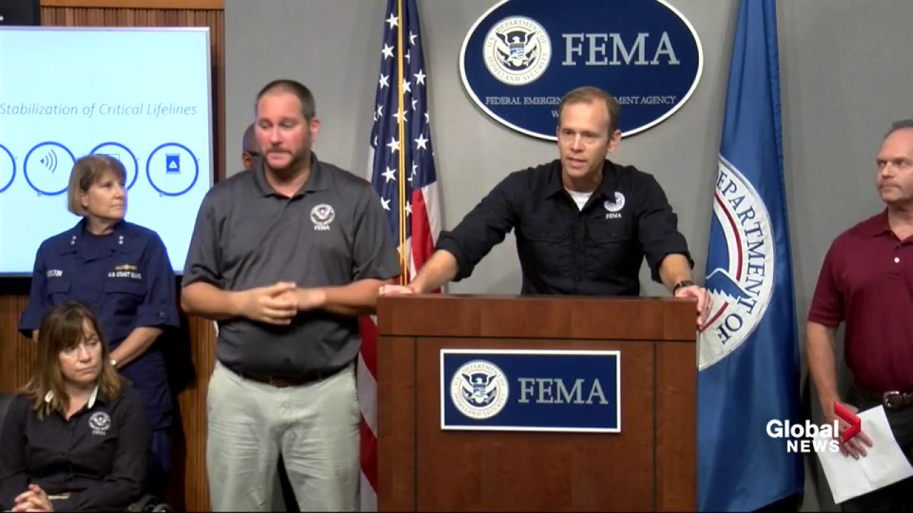 Hurricane Florence FEMA says hurricane preparation is 'a team sport