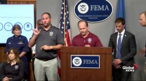 Hurricane Florence: NOAA confirms category two storm, maximum winds of 396 kph