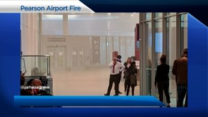 Tracking frustrated flyers in wake of fire at Pearson International Airport