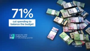 Majority of Tory, Liberal and NDP voters prefer spending cuts, new poll shows