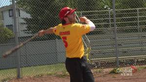 University of Calgary athlete says baseball is 'saving my life'
