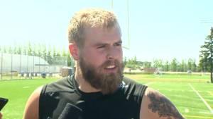 RAW: Blue Bombers Chris Streveler Interview – Aug. 19