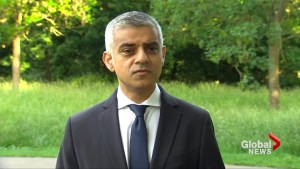 """London's mayor: """"We will never let them win"""" as London Bridge remains on lockdown"""