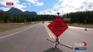 News Talk 770 reporter turned back on Highway 93