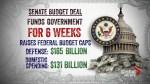 U.S. Senate reaches bipartisan budget deal, but government shutdown