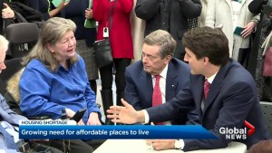 Federal government commits $1.3B to Toronto Community Housing