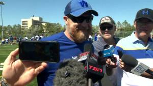 RAW: Blue Bombers Mike O'Shea Media Briefing – Aug. 19