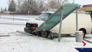 205 vehicle collisions reported in Calgary over 12 hour period after