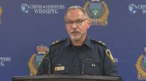 Winnipeg police say there is no threat to the community after two men were found dead in a Kirkfield-Westwood home.
