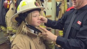 Grade 6 student named Oshawa's junior fire chief