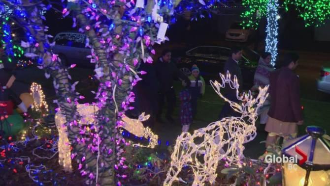 Lethbridge Christmas Lights Tour Map