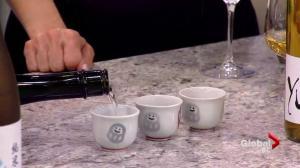 Sake food pairings