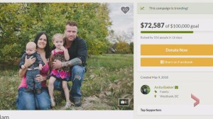 Support growing for children of young Red Deer couple killed in motorcycle crash