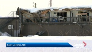 Roofs collapse across Quebec after heavy snowfall, rain
