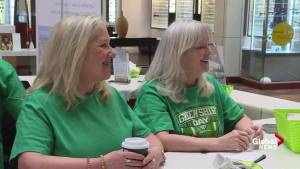 Promoting organ donation for Green Shirt Day