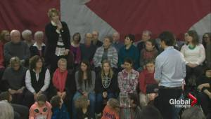 Justin Trudeau faces tough questions on hydro prices during Ontario town hall